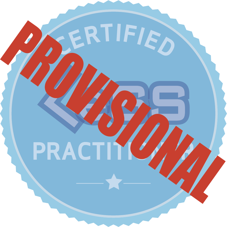 Provisional Certified LeSS Practitioner