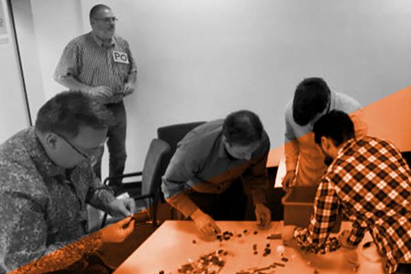 Wolfgang Steffens Lego simulation