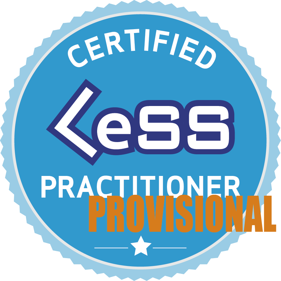 provisional certified less practitioner badge